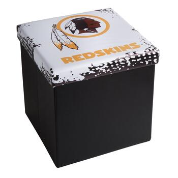 NFL Washington Redskins Logo Storage Ottoman