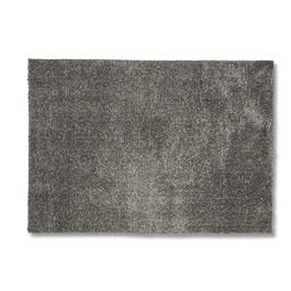 "Solid Gray Shag 60"" x 84"" Area Rug view 1"