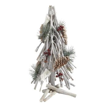 "14"" Berry and Pinecone Twig Tree"
