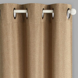 Solid Denver Grommet Top Blackout Window Curtains, Set of 2 view 1