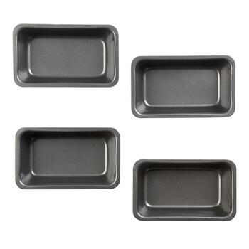Mini Loaf Baking Pans, 8-Pack view 2