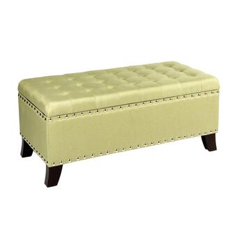 Flare Leg Nailhead Storage Bench Christmas Tree Shops And That