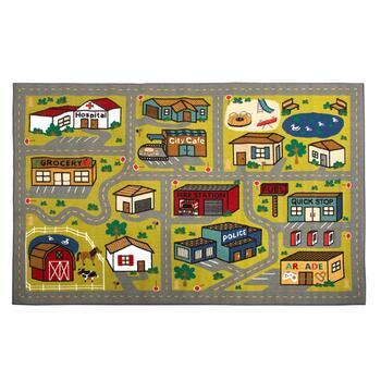 5' x 8' Mohawk Home Town Roads Children's Play Rug
