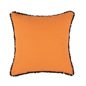 "Orange ""Drink Up Witches"" Halloween Throw Pillow view 2"