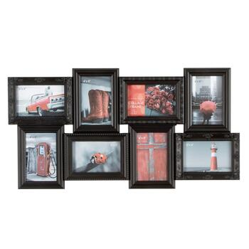 8-Opening Ornate Frames Hanging Photo Collage