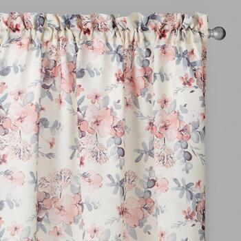 Perfect Window Blush Charlie Window Curtains, Set of 2