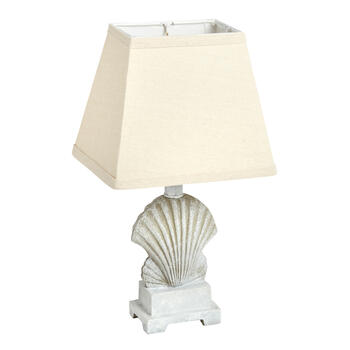 "16"" Shell Base Coastal Accent Lamp view 1"