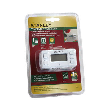 Stanley® 1-Outlet Daily Digital Bar Timer view 1
