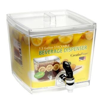 1.5-Gallon Stackable Beverage Dispenser view 2