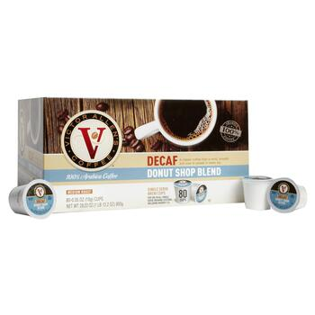 Victor Allen's® Donut Shop Decaf Coffee Pods, 80-Count