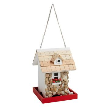 Stone Cottage Hanging Bird Feeder