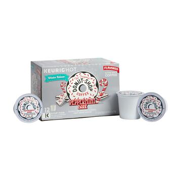 Donut Shop® Peppermint Bark Coffee Pods, 6 Boxes