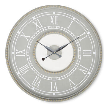 "Petal and Stone™ 30"" Gray Clock view 1"