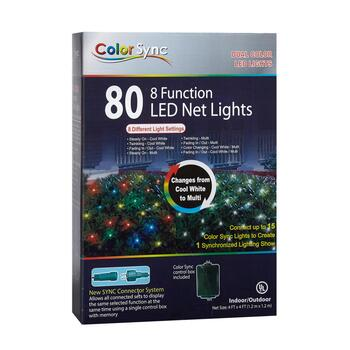4' Mini LED Color Sync Dual String Lights view 2