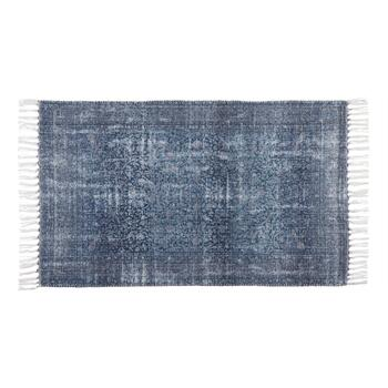 "The Grainhouse™ 27""x45"" Blue Chenille Area Rug"