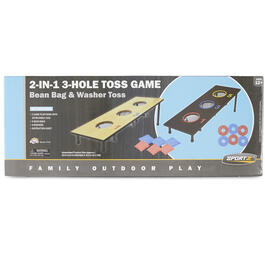 2-in-1 3 Hole Toss Game view 1