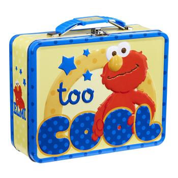 """be0a7f82a794 """"Too Cool"""" Elmo™ Tin Lunch Box"""