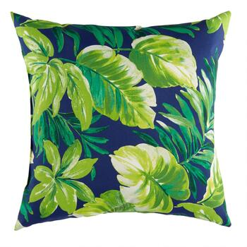 Palm Leaves Indoor/Outdoor Square Throw Pillow