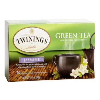 Twinings® Jasmine Green Tea, 6 Boxes