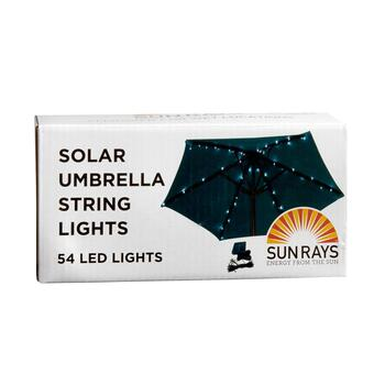Solar Umbrella String Lights view 2 view 3