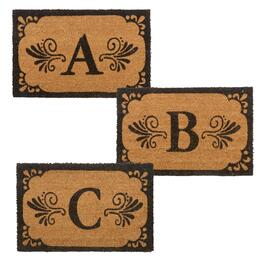 Monogram Coir Door Mat