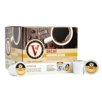 Victor Allen's® Decaf Morning Blend Coffee Pods, 42-Count view 1