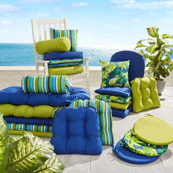 Indoor/Outdoor Seat and Chair Pads