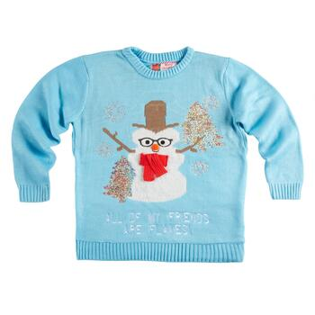 My Friends Are Flakes Snowman Ugly Holiday Sweater Christmas Tree Shops And That Home Decor Furniture Gifts Store