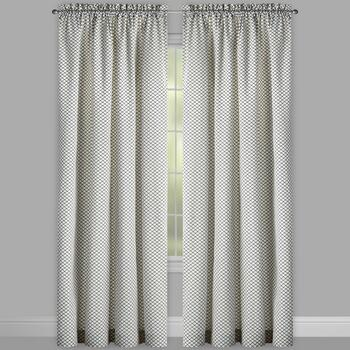 "Traditions by Waverly® 84"" Georgette Window Curtains, Set of 2 view 2"