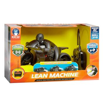 Lean Machine Radio-Controlled Racing Motorcycle