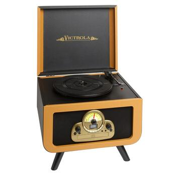 Victrola Retro Turntable with Legs