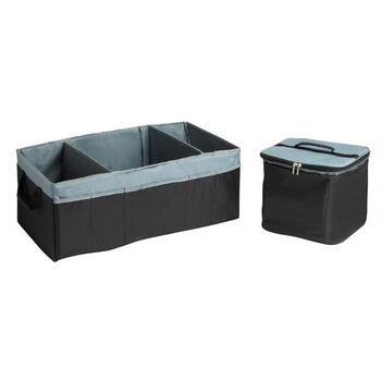 3-Section Trunk Organizer with Removable Cooler