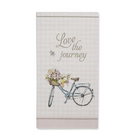 "Petal & Stone™ ""Love the Journey"" Guest Towels 20-Count view 1"