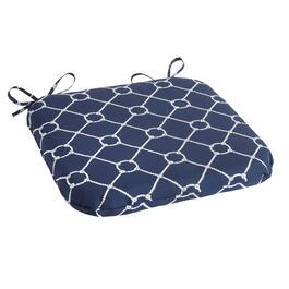 Nautical Knots Indoor/Outdoor Squared Seat Pad