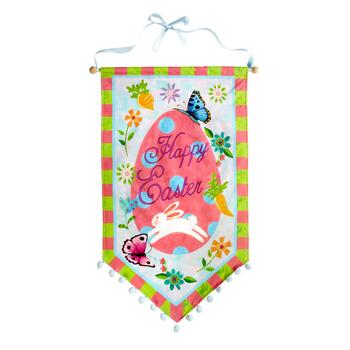 """Happy Easter"" Egg Banner"