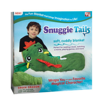 Ontv Dragon Snuggie Tail view 1