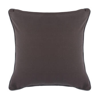 The Grainhouse™ Gray/Black Floral Square Throw Pillow view 2