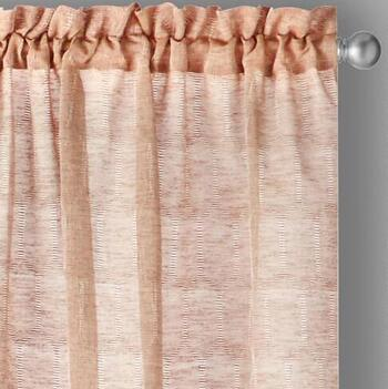 "The Grainhouse™ 95"" Geo Circles Window Curtains, Set of 2"