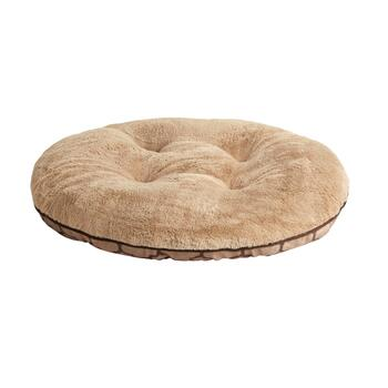 Brown Geo Extra-Large Oval Pet Bed view 2