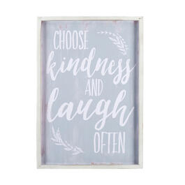 "19""x27"" ""Choose Kindness"" Framed Wood Wall Decor view 1"