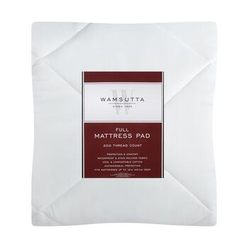 Wamsutta® 200-Thread Count Mattress Pad