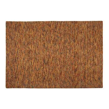 5'x7.5' Tan Space-Dyed Wool Rug