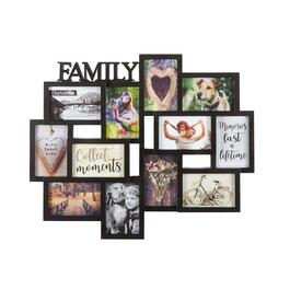 """Family"" 12-Opening Multi-Dimensional Collage Frame"