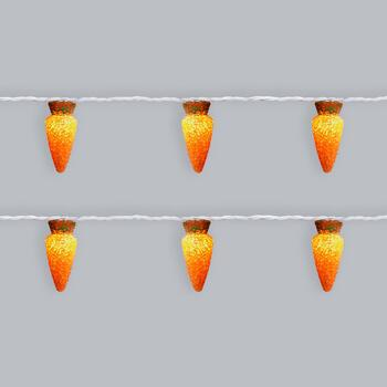 6.75' Carrot String Lights, Set of 2