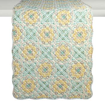Traditions by Waverly® Astrid Floral Quilted Table Runner