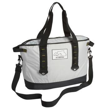 Large Gray Cooler Bag