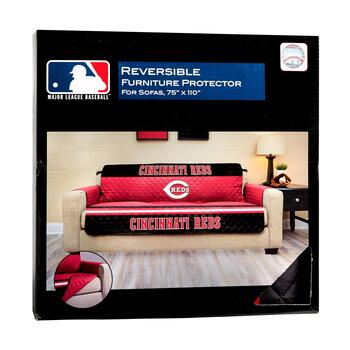 MLB Cincinnati Reds Reversible Sofa Cover