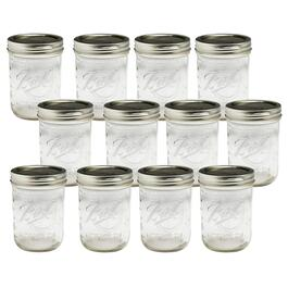 16-oz. Ball® Wide Mouth Mason Jars with Lids, Set of 12