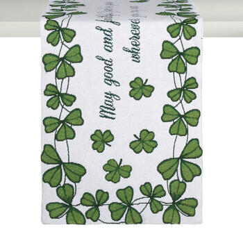 Irish Blessing Tapestry Table Runner view 1