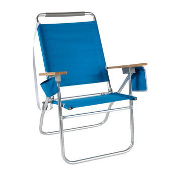 Deluxe High Seat Folding Sand Chair view 1